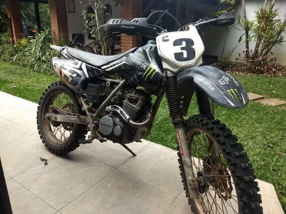 Xr200r Com Carenagem Da Crf - Moto De Trilha Zerada!