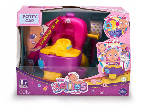 Bellies Potty Car - Silla Entrenamiento Famosa - 700015140