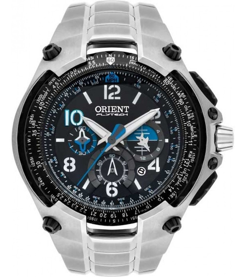 Relógio Orient Flytech 10 Anos Titânio Prata Masculino
