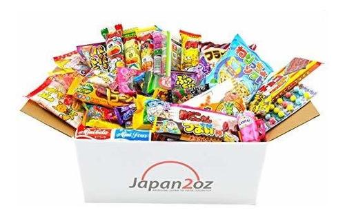 Caja De Dulces Japoneses 40 Piezas De Bocadillos Y Dulces Mercado Libre