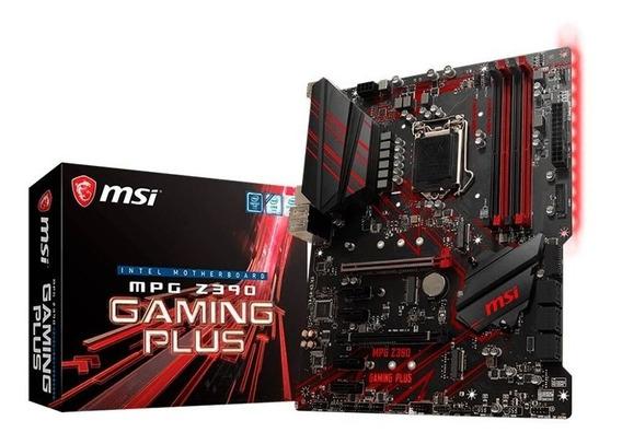 Placa Mae Msi Mpg Z390 Gaming Plus Ddr4 Lga1151 Intel Z390