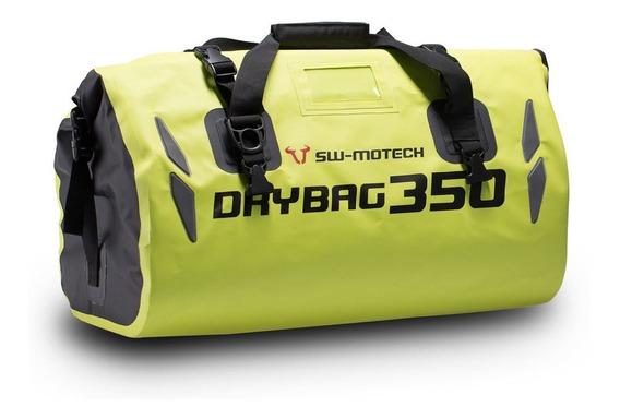 Bolsoasiento Trasero Viaje Moto35lts Amarillo Waterproof Sw Motech