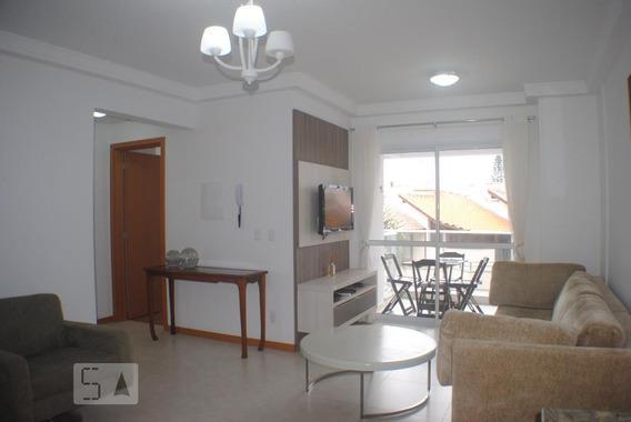 Apartamento No 2º Andar Mobiliado Com 2 Dormitórios E 2 Garagens - Id: 892957955 - 257955