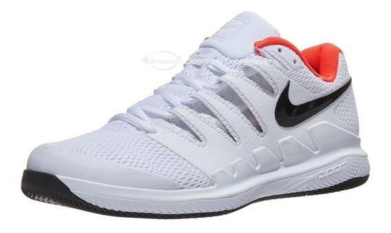 Tenis Nike Air Zoom Vapor X Rf Blanco/carmesi