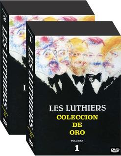 Les Luthiers Coleccion De Oro 1979-2016 En Dvd + Cd En Vivos