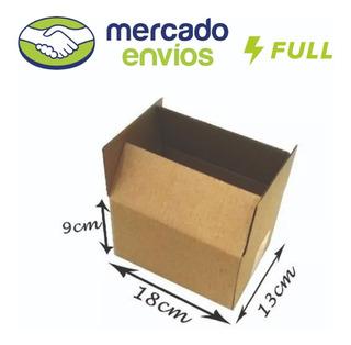 50 Caixas De Papelão Embalagem Correio 18x13x9 Fábrica