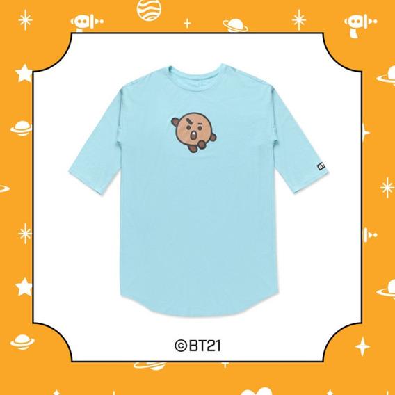 Bt21 Bts Pijama Oficial Camisón Van Chimmy Mang Tata Suga