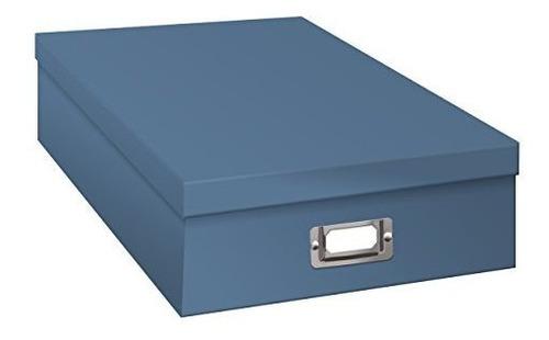 Imagen 1 de 2 de Jumbo Pionero Libro Recuerdos Caja Almacenaje, Cielo Azul