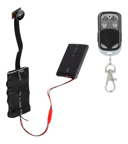 Camara Espia Grabador De Voz 1080p Control Remoto 4250mah