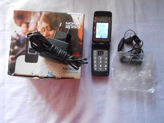 Celular Nokia 2855cdma Totalmente Novo P/colecionador N27-1