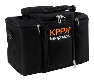 Bolsa Termica Keeppack Com Marmitas Pronta Entrega