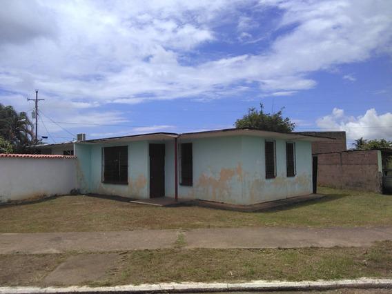 Se Vende Casa Sencilla En Ciudad Piar