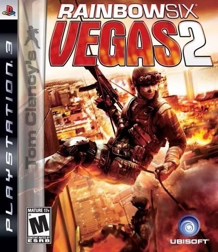 Tom Clancys Rainbow Six Vegas 2 Ps3 Mídia Física Top