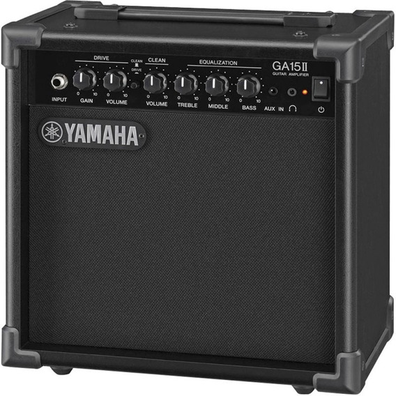 Amplificador Yamaha Ga15ii Para Guitarra Com 15w De Potênc