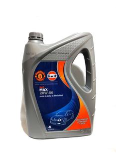Aceite Mineral Gulf Max 20w50 4l