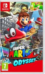 Rg. Super Mario Odyssey Juego Nintendo Switch