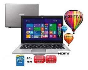 Notebook Positivo Dualcore N30i Intel 2gb 500hd Queima Estoq
