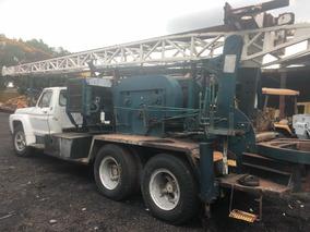 Perforadora Montada Sobre Camion Marca Caldwell