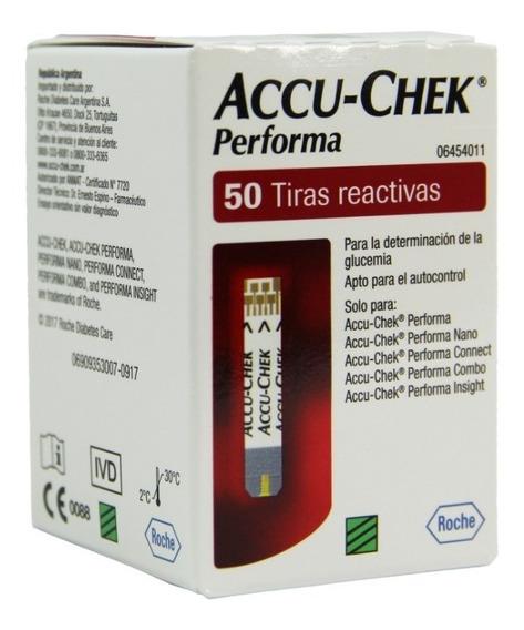 Tiras Reactivas Para Glucometro Accu Check Performa