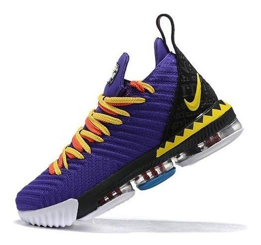 Nike Lebron 16 Martin Limited Lebron James Numero - 7 Y 8 Mx