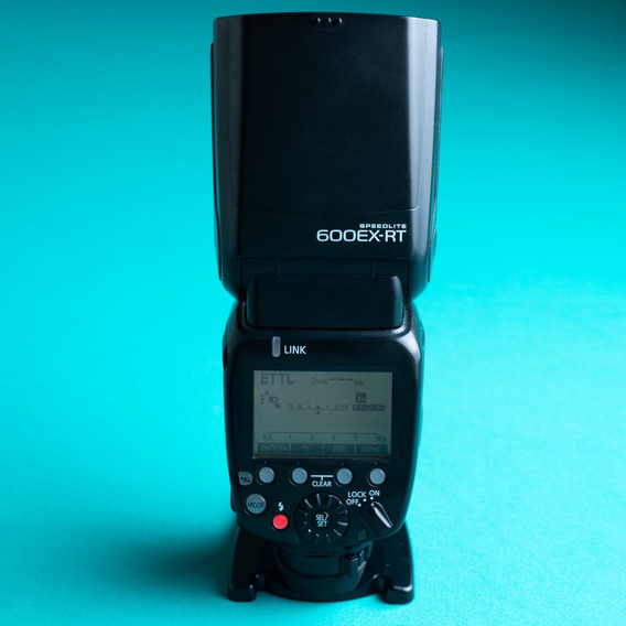 Flash Canon 600ex Rt Impecável