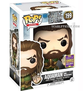 Funko Pop Aquaman 199 Original Pop Heroes Scarlet Kids
