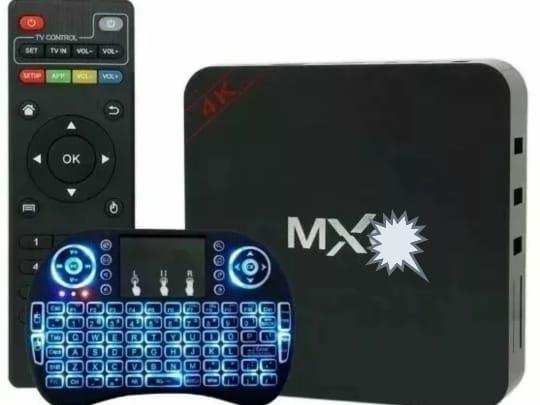 Kit Com 2 Smart Conversor Box Tv 3gb Ram 16gb+mini Teclado