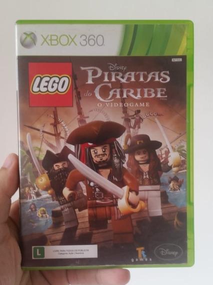 Lego Piratas Do Caribe O Videogame Original Físico Xbox 360