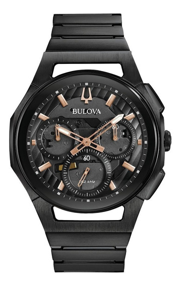 Reloj Bulova 98a207 Curv Caballero Original Tienda Oficial
