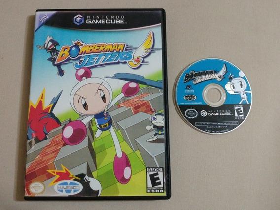 Game Cube: Bomberman Jetters Americano Na Caixa! Raríssimo!