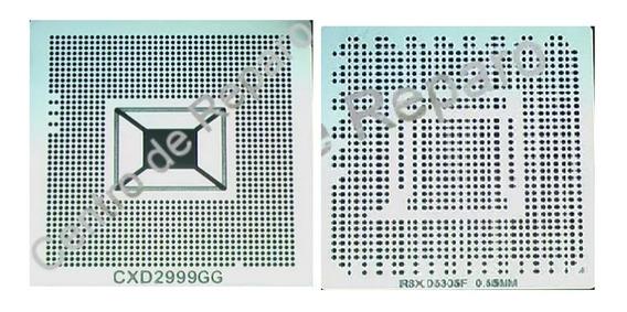 Stencil Ps3 Super Slim 4000 Gpu D5305f Cpu Cxd2999g Kit2pcs