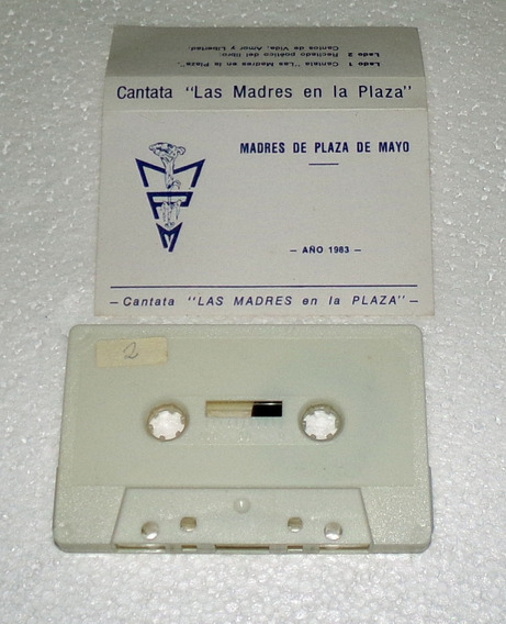 Madres De Plaza De Mayo Cantata Cassette 1983 Kktus