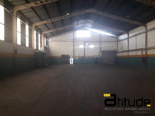 Galpão 1101 Mtas Industrial E Comercial Em Jandira - 3363