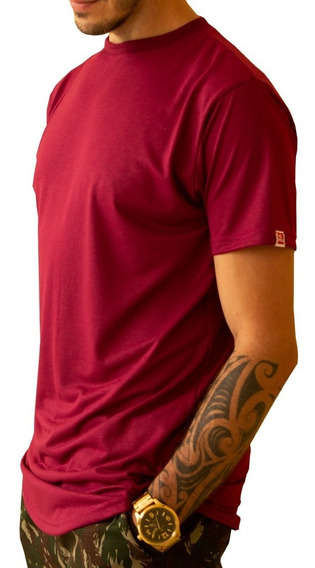 Camiseta Masculina Longline Over C35 Caimento Perfeito