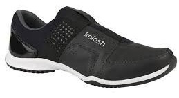 Tênis Lindo Couro Confortável Kolosh C0781 Preto Lançamento