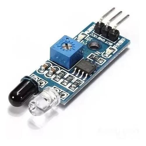 Sensor De Obstáculo Reflexivo Infravermelho Ir - Arduino Pic