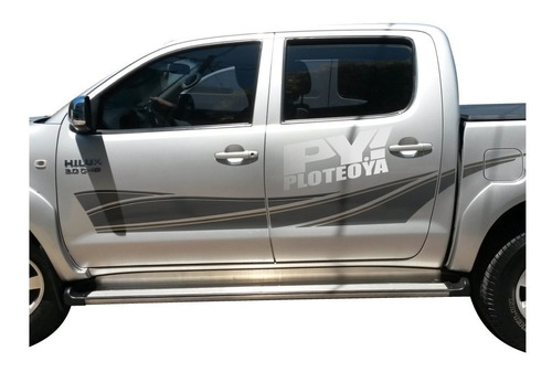 Calcos Toyota Hilux 2010 2011 2012 2013 2014 2015 Completo