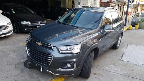 Chevrolet Captiva 2018 2.4 Lt Gris Suv 7 Asientos 1* Mano