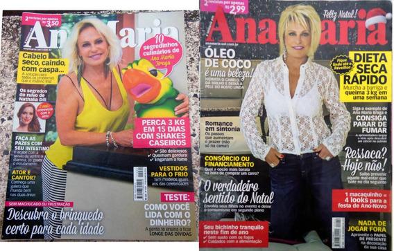 2 Revistas Ana Maria 1002 E 1029 Ana Maria Braga 2015 2016