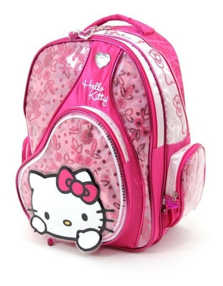 Mochila Colegial Espalda Hello Kitty 823 42 Cm - Children