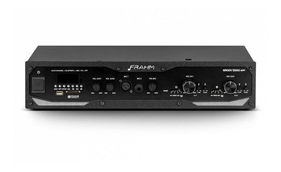 Frahm - Amplificador Linha Groov Bt/usb/sd/fm Gr5500 App
