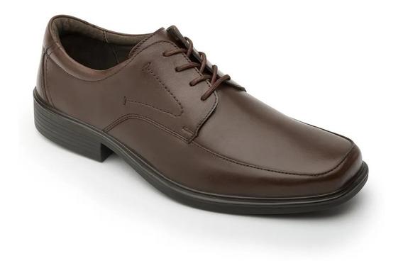 Zapato Vestir Caballero 96301 Flexi Caoba