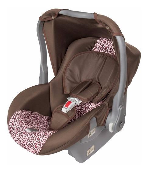 Bebê Conforto Nino Para Carro Até 13kg Rosa Onça