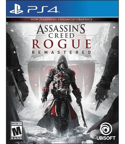 Imagen 1 de 3 de Assassins Creed Rogue Remastered Ps4 Juego Fisico Sellado Cd