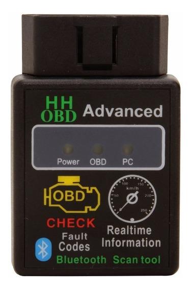 Elm327 Hh Obd Advanced Bluetooth 2.1 Odb2 Obdii Fiat Gm Ford