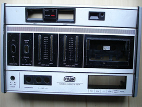 Painel Tape Deck Evadin Td-7218