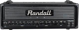 Randall Thrasher Cabezal De Amplificador De Guitarra, Negro