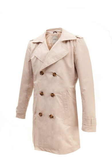 Piloto Oxford Al Trench Mujer Impermeable