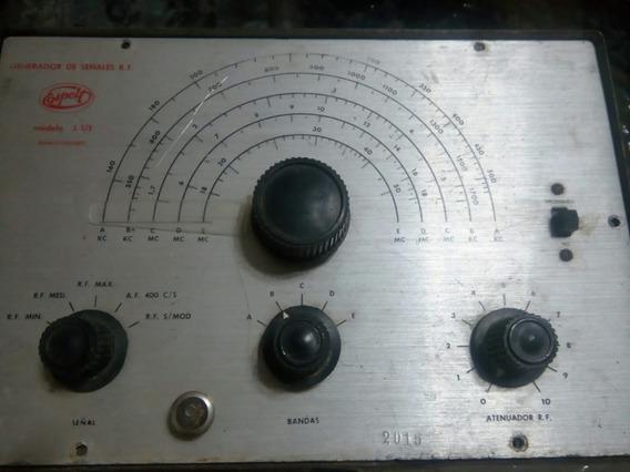 Generador De Señales R.f. Espelt (antiguedad, No Funciona)