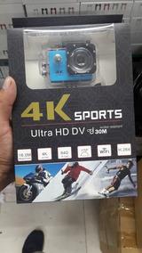 Câmera Ultra Hd Dv Pro 4k Sport Wifi Prova Dágua Original